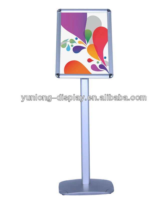 Simple Advertising Menu / Poster Display Stands For Restaurant