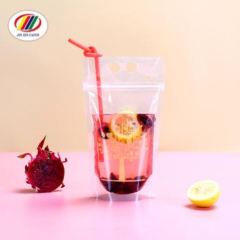 230282cfb Venta caliente de la categoría alimenticia mango claro resellable impresión  personalizada pie cremallera bebidas bolsas de