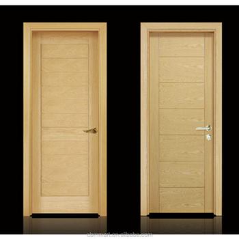 Double Entry Wood Doors Gl Insert Interior Door