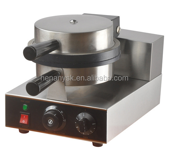 IS-FY-190 Stainless Steel Electric Pizza Bowl Waffle Machine With Timer Non-Stick Coating Waffle Baker