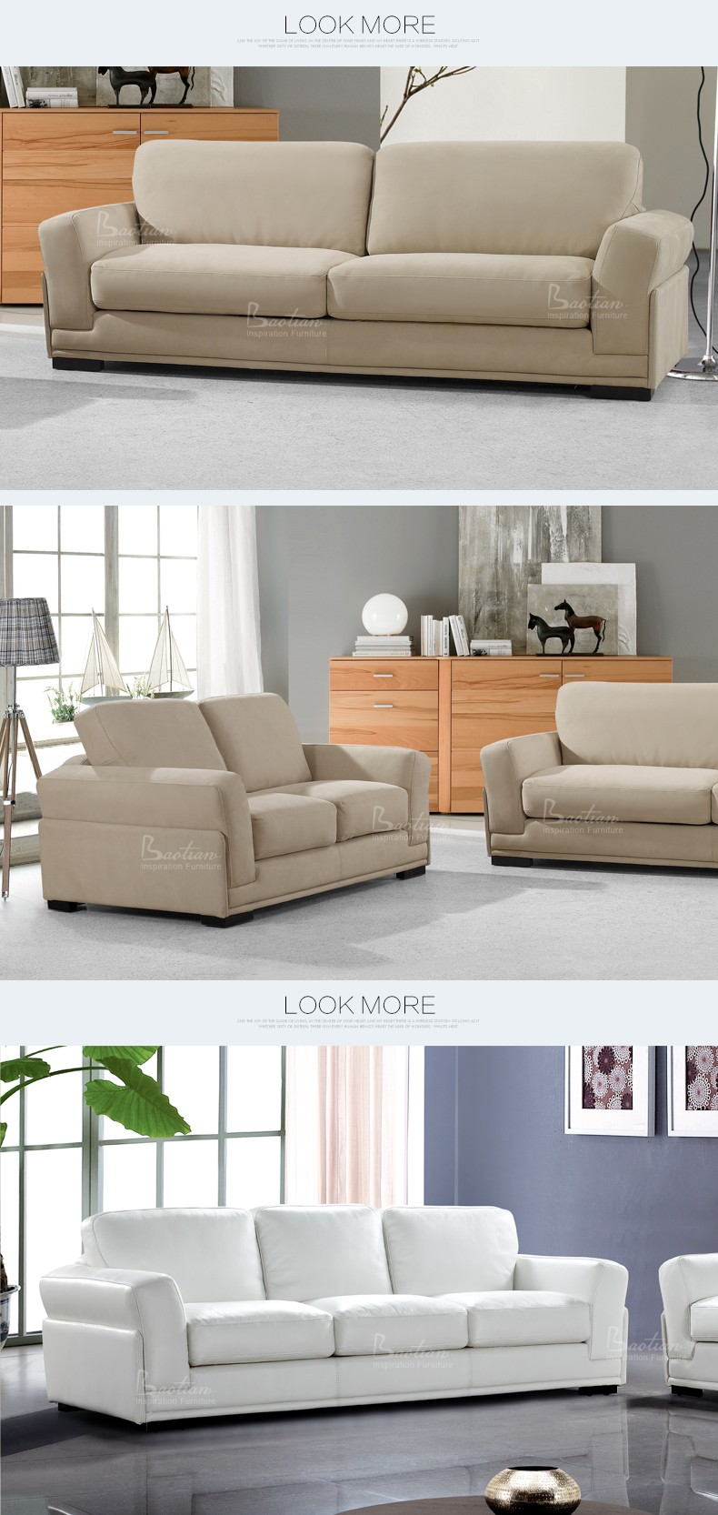 Modern italian leather sofa - Nicoletti Italian Leather Sofa European Style Modern Italian Full Leather Sofas