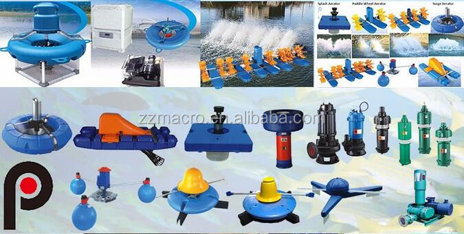 Farming System Water Surface Solar Paddle Aerator For Fish Pond