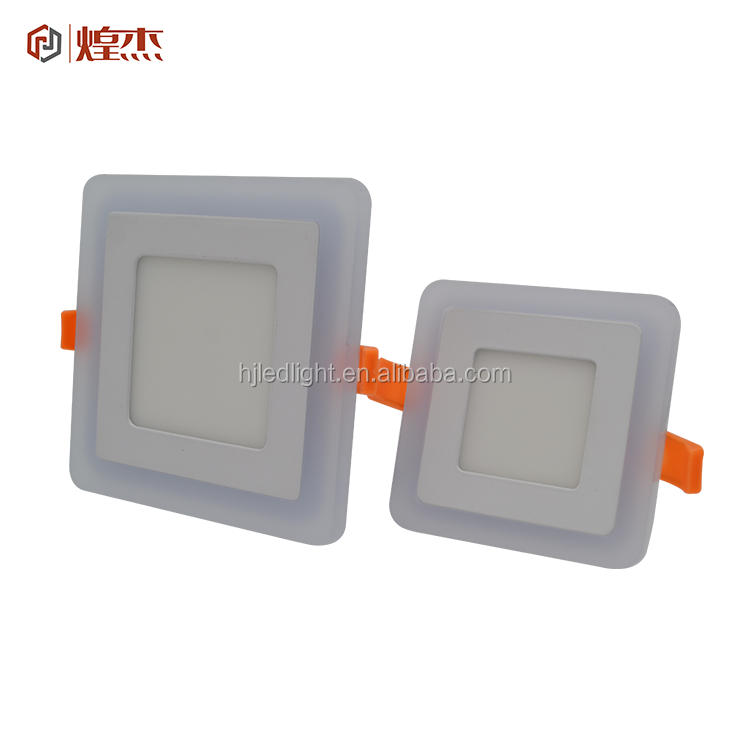 Living Room Decorative recessed surface mount multicolor square round RGB panel ceiling LED lights