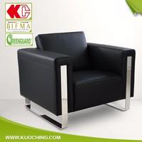 OEM Color Optional Elegant Comfortable Conference Leather Sofa/Office Sofa Design