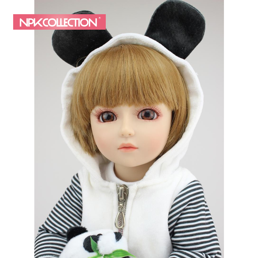 NPKCOLLECTION Beautiful SD/BJD <strong>doll</strong> top quality handmade <strong>doll</strong> with hat bebe <strong>doll</strong> gift for kids