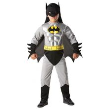 Meninos Muscle Batman traje do super herói Halloween fantasia de natal carnaval anime cosplay roupa fancy dress para crianças crianças