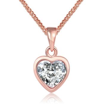 Gold necklace designs 2017 plating 18k rose gold heart shaped gold necklace designs 2017 plating 18k rose gold heart shaped pendant aloadofball Choice Image