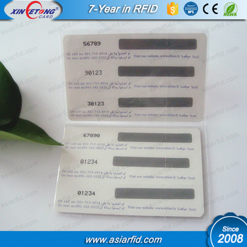 Printing Three Pin Code Snap Off Scratch Card,Vip Business Card ...