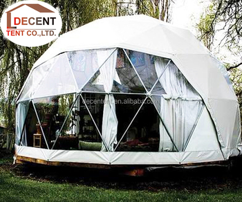 Geodesic Dome Tent 8m Gl&ing Family C&ing Tents with Clear Window & Geodesic Dome Tent 8m Glamping Family Camping Tents With Clear ...