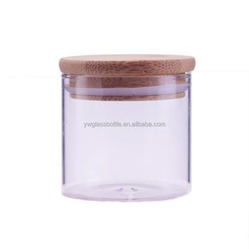 4oz Hermetic Glass Storage Jars Weed Herb Jar 120ml