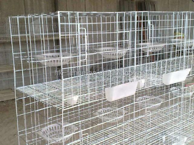 Galvanized Wire Mesh Panels For Breeding Rabbit Cage Buy