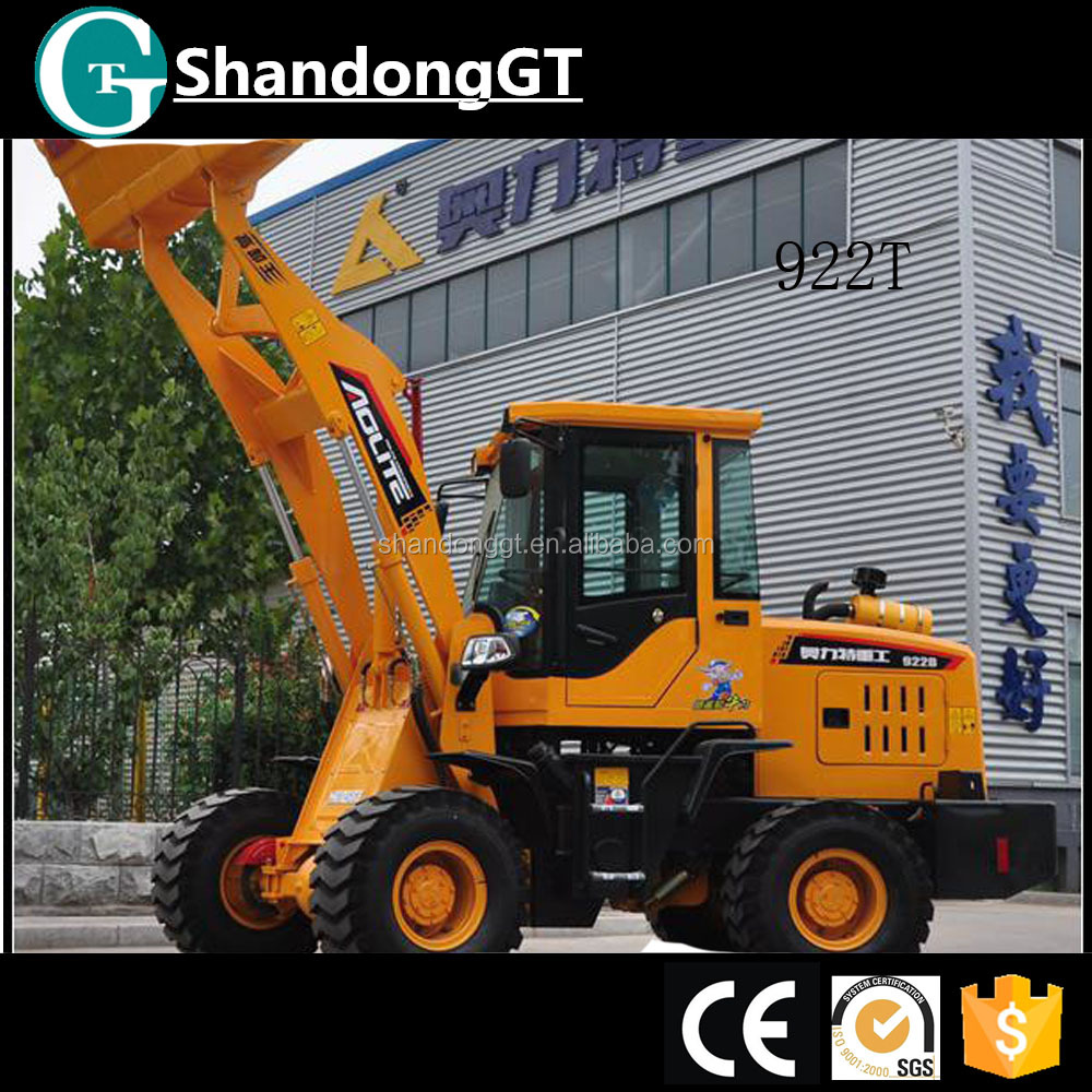 china wholesale michigan 922T mini 1200kg wheel loader