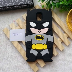 Cute 3D Cartoon Soft Silicone Case Cover For Samsung Galaxy S3/S4/S5/Note 3/Note 4 /i9300/i9500