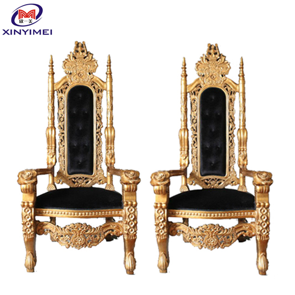 Factory direct sale royal reception chair elegant reception sofa for hotel hall