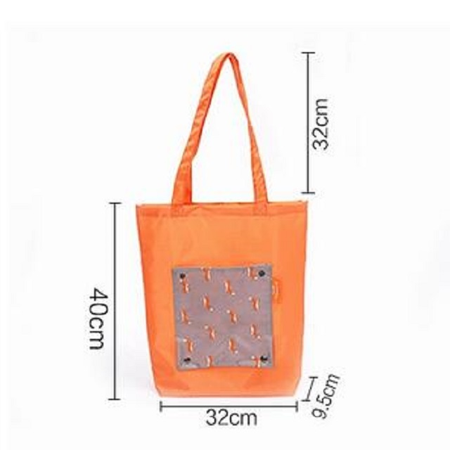 Customized Waterproof Canvas Tote Handbag Shoulder Bag Outside Shopping Folding eco friendly shopping bags