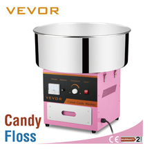 Electric Commercial Cotton Candy Machine / Floss Maker Pink With CE