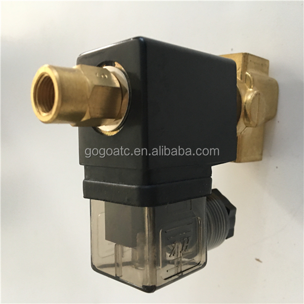 Clean Air /Water/Oil/Solvent/Weak acid/Weak alk ali three way thermostatic valve
