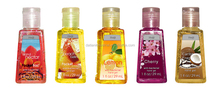 Hot sale FDA high quality hot sell alcohol based flavours deepcleansing hand sanitizer