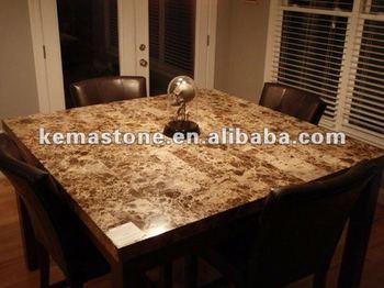 Marble top dining fancy restaurant table buy fancy for Mesas de marmol para comedor
