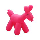 Manufacture Cheap Pink Hot Sale Animal vinyl toy for Dog