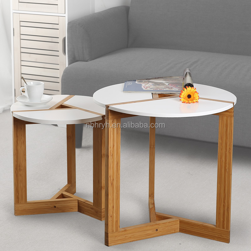 Bamboo living room fashion round <strong>table</strong> a few small tea <strong>table</strong> factory wholesale direct