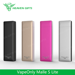 HeavenGifts Latest Version Super portable device 0.8ml 180mAh VapeOnly Malle S Lite