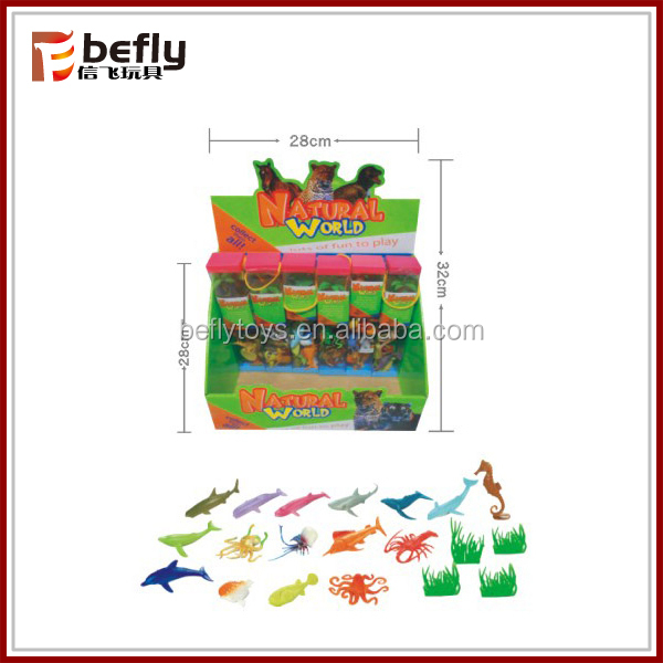New PVC mini sea animal toy for children