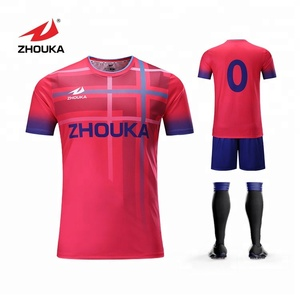 the best attitude 3359b b844b Custom adult blank football jerseys for printing sublimation soccer uniform