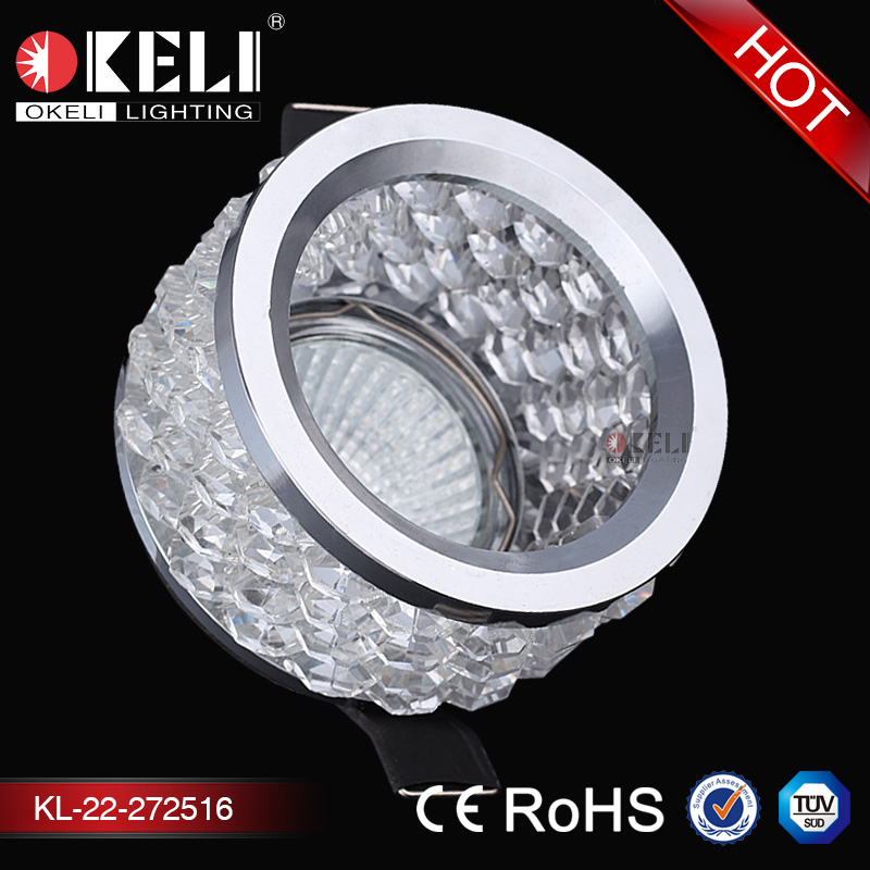 MR16 G5.3 D83*H60 Single-ended Circlip crystal ceiling lamp modern