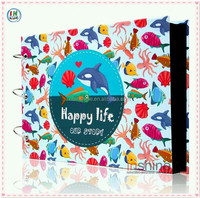 Kids DIY photo album scrapbook , paper photo album