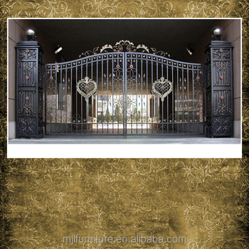 Metal Sliding Main Gate Roof Design Buy Metal Sliding