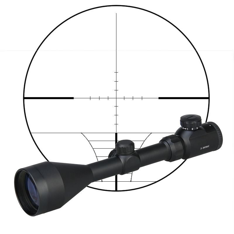 Tactical War Game Shooting Hunting Airsoft Riflescope sight 3-9x56E optic rifle scope GZ1-0195