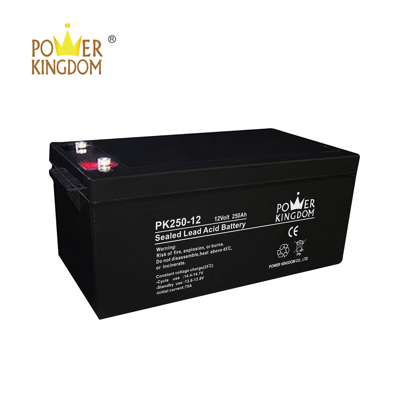 Power Kingdom mechanical operation deep cycle battery life factory-2