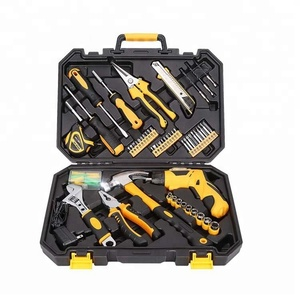 95 pcs Household Mini Electric Screw Driver Rechargeable Repair Tool Kit