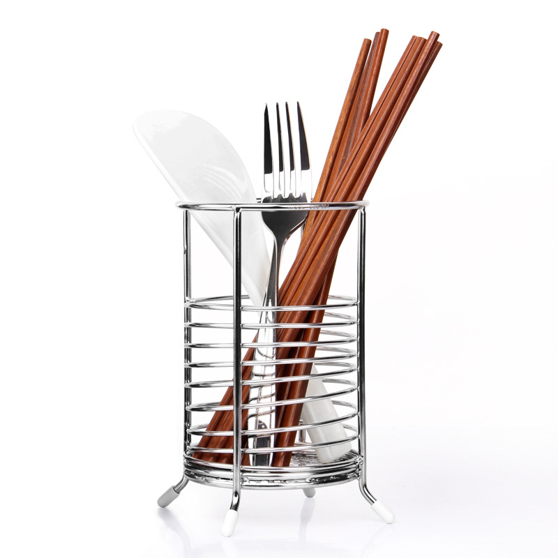 2017 Hot-selling keuken lepel en vork houder/Metalen chopstick rest/Mes rack