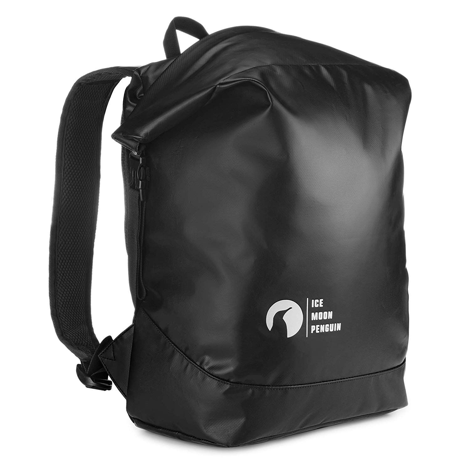 98091a612 Get Quotations · Waterproof Dry Backpack for Men - Travel Backpacks - Water  Resistant 500 PVS Material Black Color