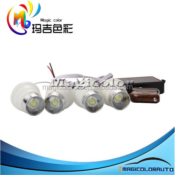 IP69 Powerful Eagle Eyes Wireless Remote Control Car Led Strobe Light Bulb