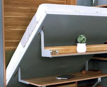 murphy bed desk. Modern Single Hidden Furniture Murphy Bed Wall Desk
