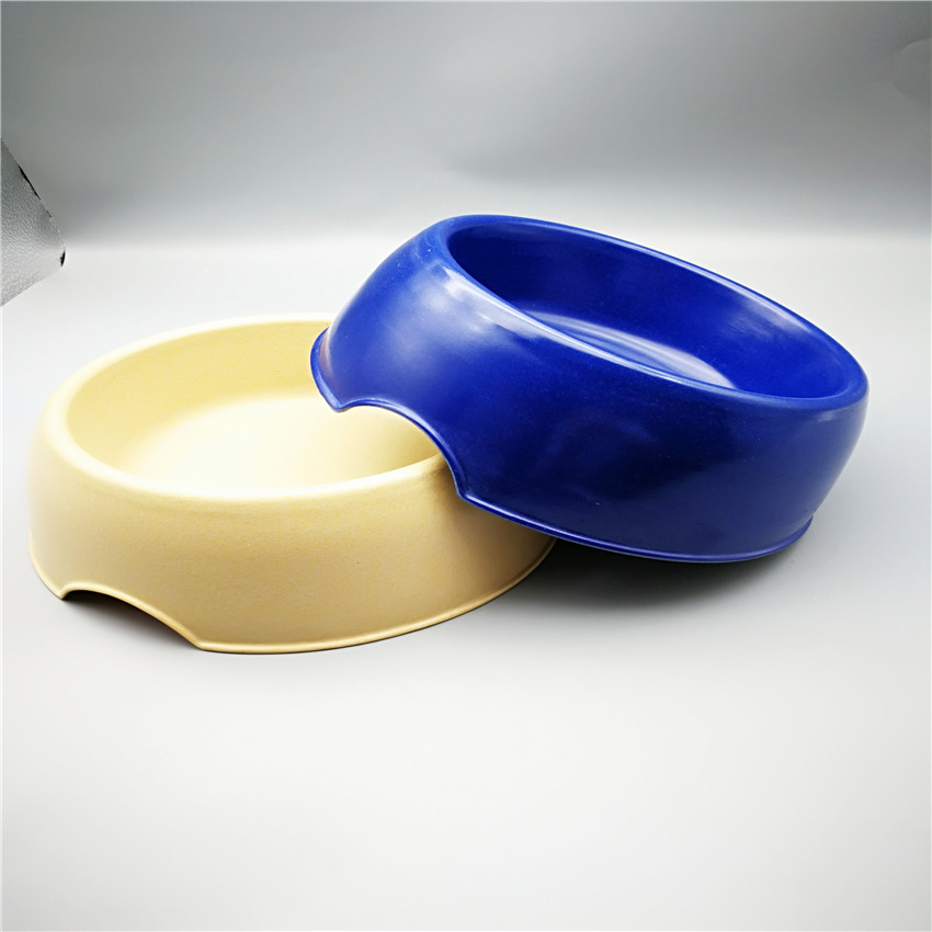 biodegradable eco friendly bamboo dog feeding bowls