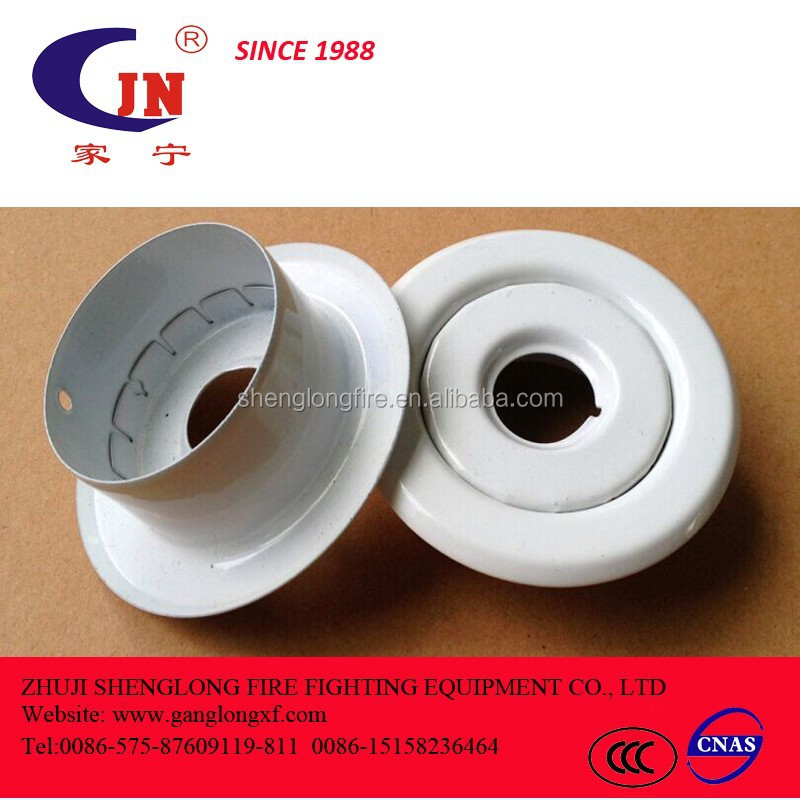 Fire Sprinkler With White Plate Fire Sprinkler With White Plate