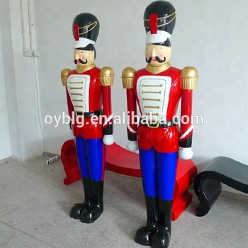 Fiberglass Large Santa Claus Statues Used Commercial Christmas ...