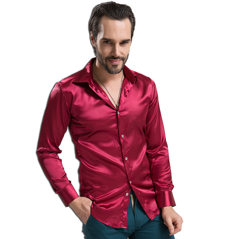 Find mens satin dress shirt at ShopStyle. Shop the latest collection of mens satin dress shirt from the most popular stores - all in one place.
