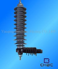 Chinese Manufacturer supply 33KV 10KA high voltage lightning pole
