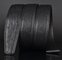 Top Quality Ostrich Full Grain Leather Belts