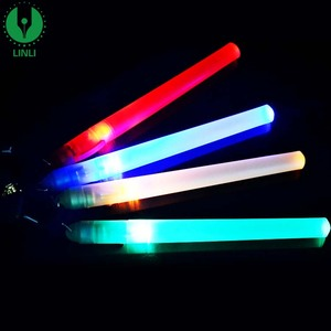 Party Decoration Mini Plastic Led Glow Light Stick with Logo