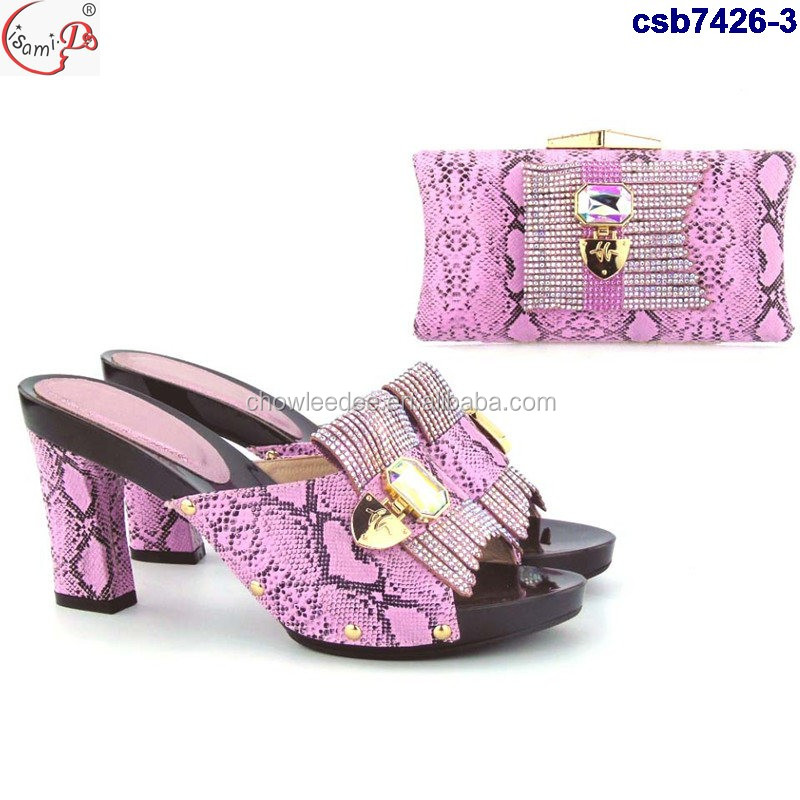 set and matching 4 italian bag wedding shoes and csb7426 price Wholesale party X0UzxRf
