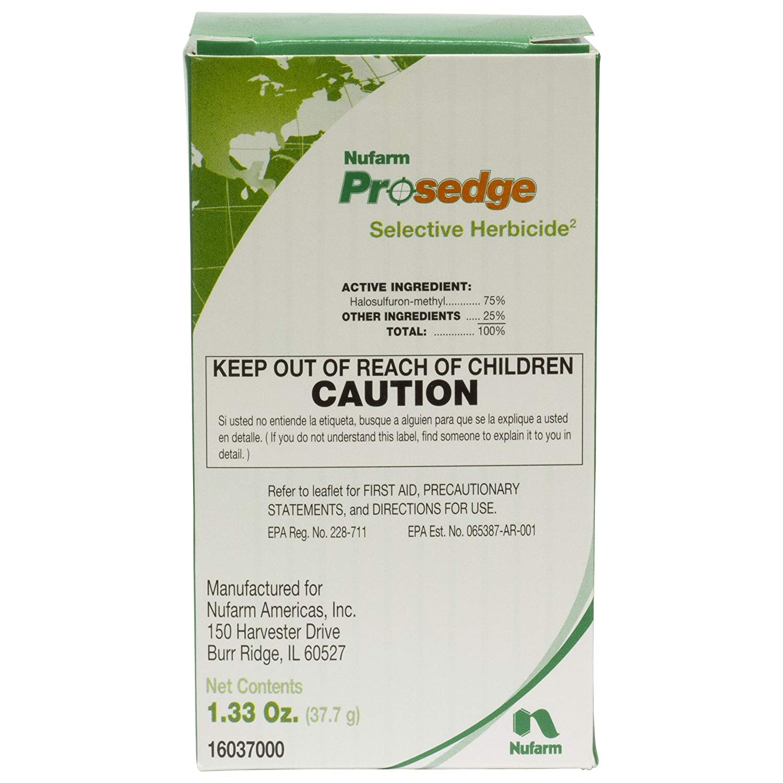 Get Quotations Prosedge Herbicide Nutsedge 1 3 Ounces Sedgehammer Manage