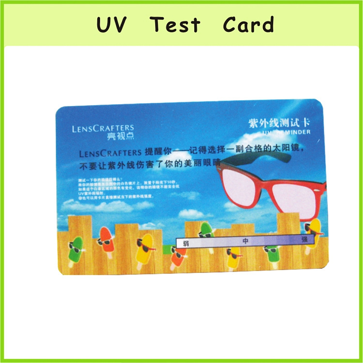 Special Uv Color Change Business Name Card
