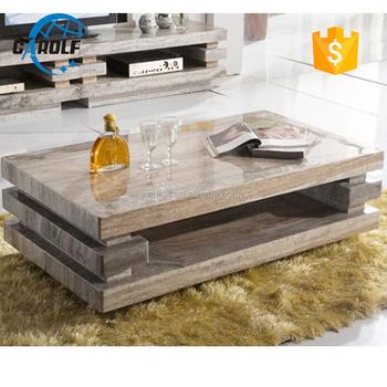 Foshan Grau Zentrum Tisch Marmor Moderne Couchtisch Buy Moderne