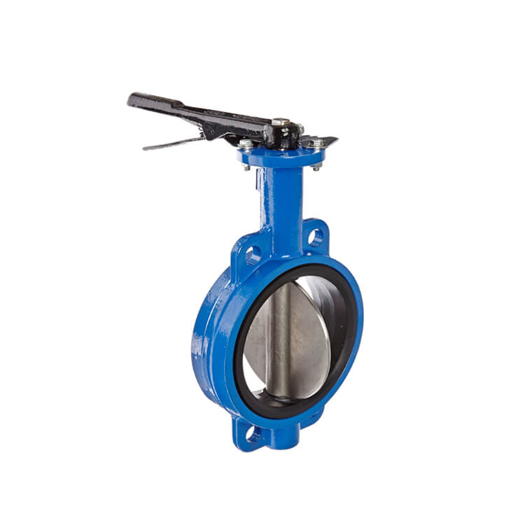 Densen Disesuaikan Manual Instalasi Wafer Butterfly Valve